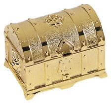 Gold Treasure Box with Arras Coins Set (WC610) ARRAS DE BODA 13 Coins NEW