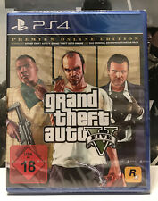 Rockstar Games Grand Theft Auto V Premium Edition (PlayStation 4, 2018)
