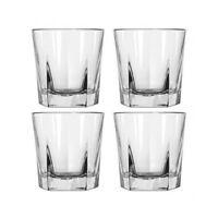 Double Old Fashioned Rocks Whiskey Scotch Glass 12 Oz Set of 4 Heavy Base
