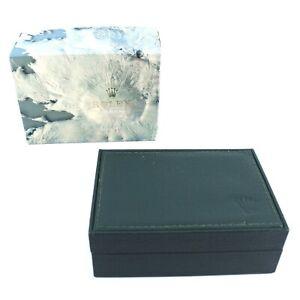 GENUINE ROLEX WATCH BOX GREEN 68.00.55 SUBMARINER DAYTONA EXPLORER OYSTER
