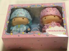 Little Twin Stars Kiki Lala Pretend Play Soft PVC Doll Set Quilt Sanrio