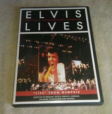 Elvis Lives: The 25th Anniversary Concert DVD Memphis TCB Band Jordanaires