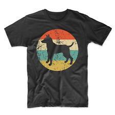 Men's Rat Terrier Shirt - Retro Rat Terrier Dog Breed Icon T-Shirt
