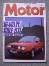 Motor (15 June 1985) Golf & Scirocco GTi, Le Mans, Renault 25, Rover 216 v Orion