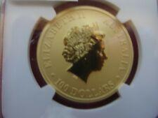 2012  Mint $100 Australia Kangaroo 1 oz. NGC Gold Coin