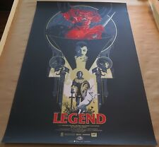 Legend Screen Print Movie Ultra Rare 1980s Nostalgia Poster