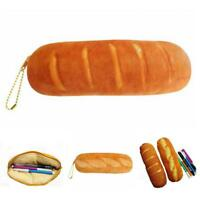 Creative Bread School Pencil Case Cute Bag For Girls Stationery Pouch Office 6L