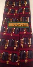 Grateful Dead Jerry Garcia Men's 100% Silk Tie Overlooking The Desert 15