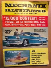 Mechanix Illustrated January 1958 (58 Pontiac)