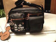 More details for bnwt mickey & minnie hand bag crossbody purse shoulder bag disney primark