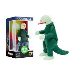 Super 7 Reaction NYCC Glow In The Dark Shogun Aurora Godzilla In Hand NEW IN BOX