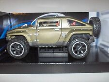 Maisto Special Edition 2008 Hummer HX Concept 1:24 In Box Hood/Doors Open