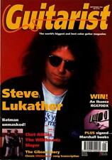 Toto Steve Lukather UK 'Guitarist' Interview Clipping TRANSPARENCY