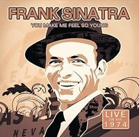FRANK SINATRA - YOU MAKE ME FEEL SO YOUNG LIVE 1974   CD NEW+
