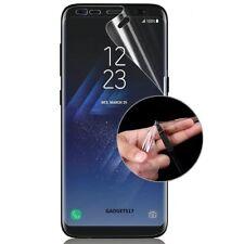 5 X Ajuste de curvas Completo Protector De Pantalla + 5 X volver película para Samsung Galaxy S9+ Plus
