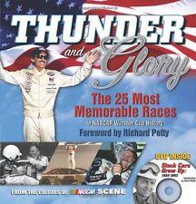NEW BOOK Thunder and Glory - NASCAR Scene and Richard Petty
