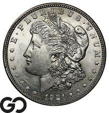 1921 Morgan Silver Dollar Silver Coin, Sharp