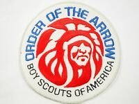 "Official BSA Order of the Arrow Boy Scouts of America 6""cloth back Jacket Patch"