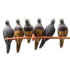 New 6x Archery 3D Pigeon Target Hunting Shooting Practice Real Animal Games Bow