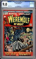 Marvel Spotlight 4 CGC Graded 9.0 VF/NM Marvel Comics 1972