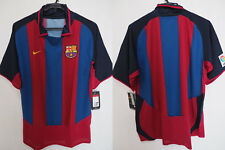 2003-2004 FC Barcelona Barca FCB Football Jersey Shirt Camiseta Home Nike L BNWT