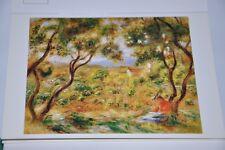 Carte Postale ancienne - Postcard Auguste RENOIR - Les vignes de Cagnes - 1908