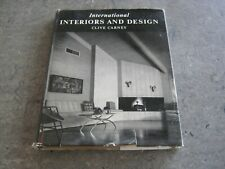 Clive Carney - International Interiors and Design h/c 1959