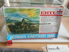 Modelkit ERTL /ESCI German Kingtiger Tank on 1:72 in Box