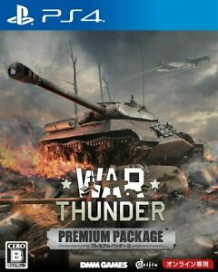 War Thunder Premium Package PS4 Games 2017 for Online Game