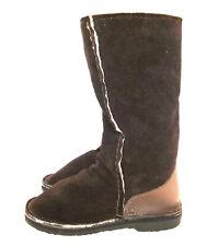 IN-STEP JEFFREYS BAY Women's Shearling Boots Winter Warm Fur Suede Warm UK 5