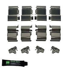 TOYOTA Landcruiser KDJ120 (03 > 09) arrière plaquettes de frein kit de montage shims bpf1133a