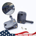 2Pcs Universal Wiper Arm 9mm/12mm Hook Washer Nozzle Jet Spray Clips Set New photo