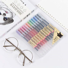 Premium MUJI Style Gel Ink Ball Point Pen [0.5mm] for Office School Stationery