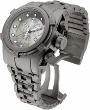 Invicta Men's 52mm Reserve Bolt Zeus Swiss Made Meteorite Titanium Watch 12727