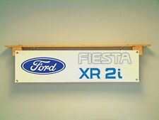 Ford Fiesta XR2i Banner Car Workshop Garage display