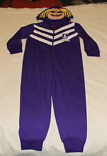 Fremantle Dockers AFL Boys Mascot Printed Hooded Onepiece Pyjama Size 6 New