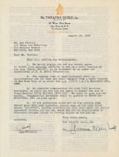 Leo Carroll- Signed Contract from 1946