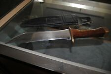 "Hand Crafted Large Custom Bowie  Knife 16"" total length, 9 3/4"" blade"