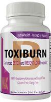 Toxiburn Max Weight Loss Pills Advanced Diet Supplements Loss Keto Burn Capsu...
