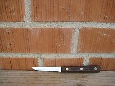 "Vintage 3"" Blade *** CHICAGO CUTLERY 102S *** Paring Peeling Knife USA"