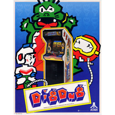 Dig Dug Free play and High Score Save Kit