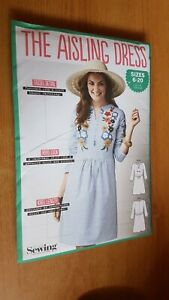 Dress pattern Simply Sewing- the Aisling Dress sizes  6-20 see pics for details
