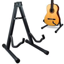 Support Pliable Guitare Basse Electrique Acoustique Stand Noir