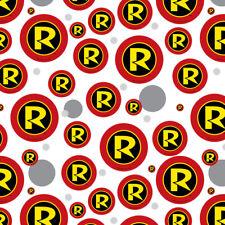 Batman Robin Logo Premium Gift Wrap Wrapping Paper Roll