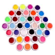 36 Farben Nail Art Profi UV Gel Set Farbgel Nagel Kunst Nagelkunstgemälde