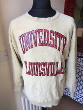 Vintage CHAMPION USA Big Logo University Print Sweatshirt | Retro Wavey | XL