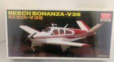 NEW Never Opened Academy Minicraft Beech Bonanza - V35 Airplane Model Kit 1/48th