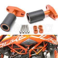 For KTM Duke 390 250 200 125 Duke CNC Frame Slider Protectors Crash Bobbines