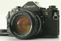 [Exc+4] Canon A-1 SLR Film Camera w/ FD SSC S.S.C. 50mm f/1.4 from JAPAN #407