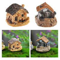 Lots DIY Mini Miniature Fairy Garden Ornament Decor Craft Cute House Accessories